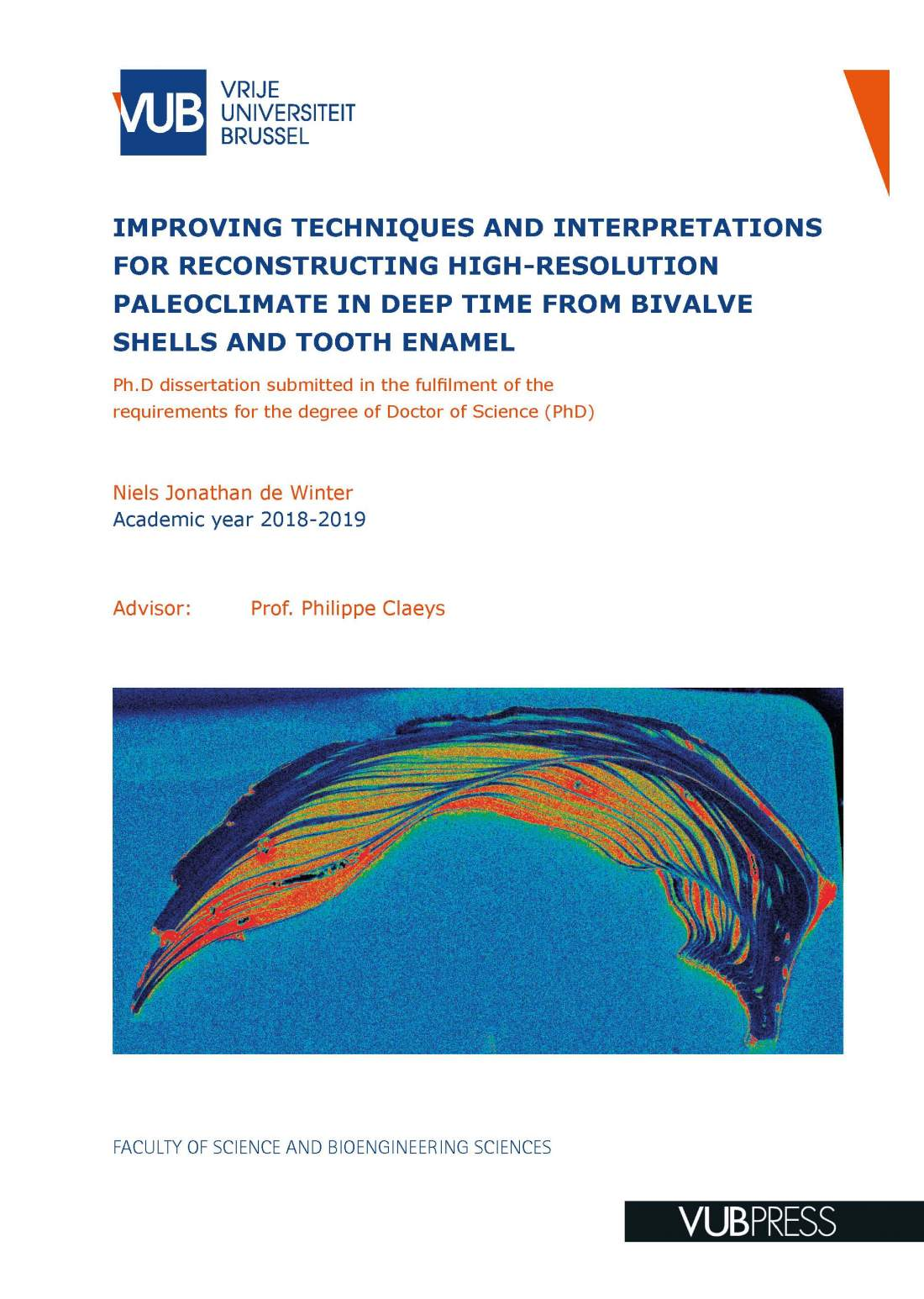 IMPROVING TECHNIQUES AND INTERPRETATIONS FOR RECONSTRUCTING HIGH-RESOLUTION PALEOCLIMATE IN DEEP TIME FROM BIVALVE SHELLS AND TOOTH ENAMEL (pdf)