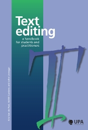 TEXT EDITING. A HANDBOOK FOR STUDENTS AND PRACTITIONERS